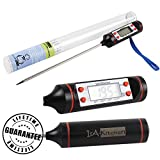 IsA-Kitchen Digital Cooking Thermometer - Instant Read - Best Digital Thermometer for All Food, Meat, Grill, BBQ and Candy - Lifetime Guarantee