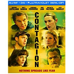 Contagion (+ UltraViolet Digital Copy) [Blu-ray]