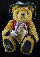 "Hermann Oktoberfest Musical Mohair Bear - Honoring 75th Birthday of Rolf Hermann - Plays ""Edelweiss"" - Limited Edition by Hermann"