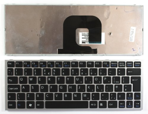 Sony Vaio VPC-YB15ABP Shining Frame Black UK Replacement Laptop Keyboard