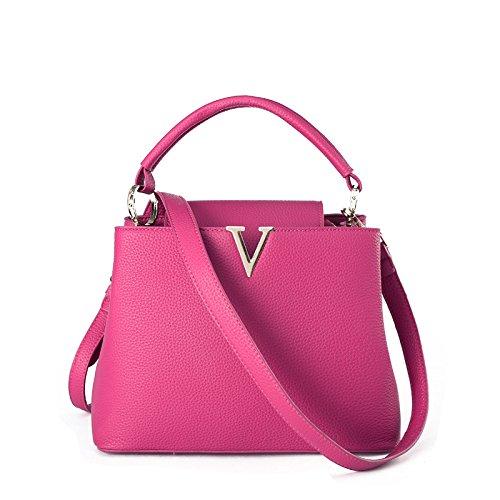 GQQ NUOVE borse a tracolla borse moda PU Dacron per Shopping Party e sul posto di lavoro fino a 6 L GQ borsa @ , black