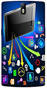 Timpax protective Armor Hard Bumper Back Case Cover. Multicolor printed on 3 Dimensional case with latest & finest graphic design art. Compatible with One Plus One ( 1+1 ) Design No : TDZ-28275