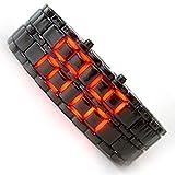 EfashionUp Men Digital Wrist Watch-Black LedLight