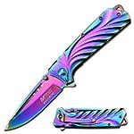 MTech Master Cutlery Rainbow 5-Inch F...