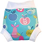 Splash About Girl's Collections Happy Neoprene Swim Nappy - Tutti Frutti, Large
