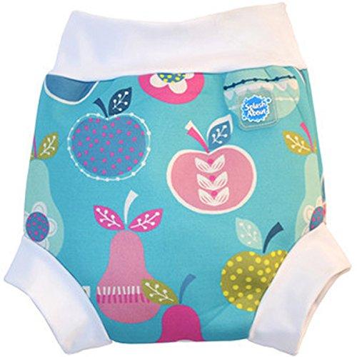 Splash About Collections Reusable Neoprene Swim Diaper - The Happy Nappy (Xl 13-18Kg Waist: 40Cm Leg: 26Cm, Tutti Frutti) front-276523