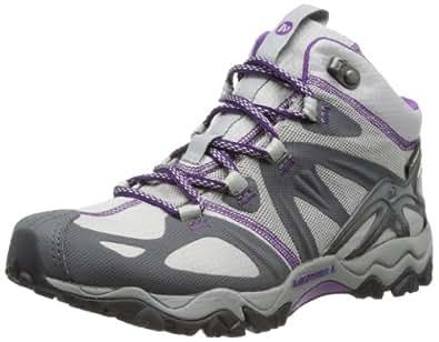 Merrell Grassbow Mid Sport Gore-Tex®, Women's Trekking and Hiking Boots, J48338, Charcoal, 3.5 UK
