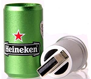 4GB Heineken Style USB Flash Drive