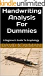 Handwriting Analysis For Dummies (Tea...