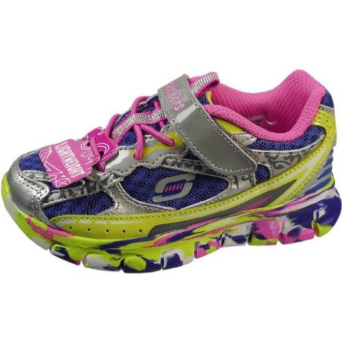Skechers Infants' Synergy Kickety Kick Bungee Laced Sneaker Multi 10 M Us front-726696