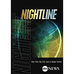 NIGHTLINE: Hillary Clinton Talks 2016, Stands by Benghazi Testimony: 1/29/13