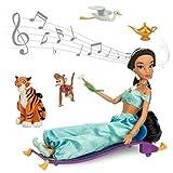 ディズニープリンセスアラジンジャスミン人形ドールサウンド付きシンギングドール&コスチュームセット27.5cm子供キッズ女の子