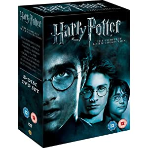 Harry Potter The Complete 8-Film Collection [DVD] $31 delivered from Amazon