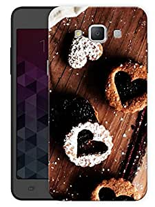 "Humor Gang Heart Chocolates Printed Designer Mobile Back Cover For ""Samsung Galaxy j7"" (3D, Matte, Premium Quality Snap On Case)"
