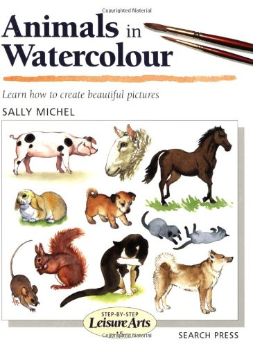 Animals in Watercolour (Leisure Arts)