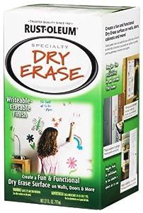 Rust-Oleum 241140 Dry Erase Brush-On Kit, White