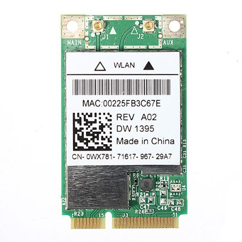 Wireless Wifi Wlan Card For Dell Broadcom Dw 1395 Bcm94312Mcg By Molona