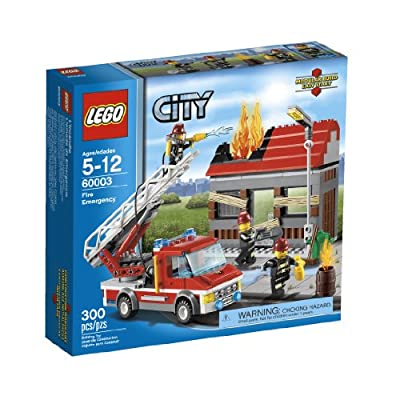 LEGO City Fire Emergency 60003 from LEGO City