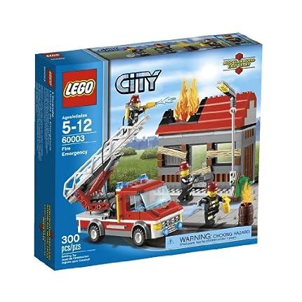 LEGO City 乐高火警救援 Fire Emergency 60003