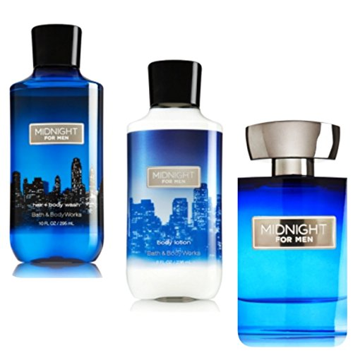 Galleon bath and body works midnight for men gift set for Mens bath set