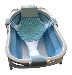 buy baby bathtub seat support sling hammock net infant. Black Bedroom Furniture Sets. Home Design Ideas