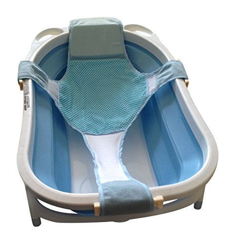 galleon baby bathtub seat support sling hammock net infant bath tub sponge pad insert. Black Bedroom Furniture Sets. Home Design Ideas