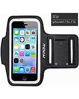 Mpow Etui Brassard Sports Sweatproof Armband Case pour iPhone iPhone 5 5S 5C pour le Jogging / Gym / Sport - Confortable avec sangle réglable