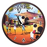 Wall Clocks - Printland Folk Dance Wall Clock