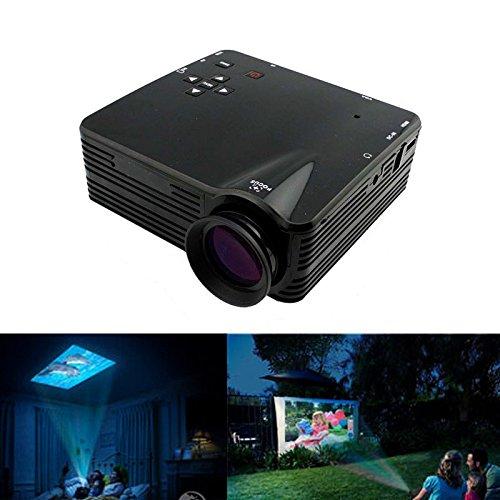 Foneso Home Cinema Theater Multimedia Led Lcd Projector Hd 1080P Pc Av Tv Vga Usb Hdmi