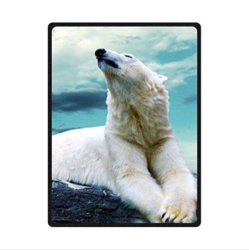 Polar Bear Fleece Blanket