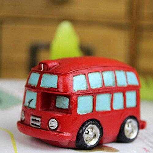 Creative Gifts Resinous Double-Decker Bus Model (6.5CM)