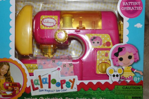 Lalaloopsy Jr Chainstitch Sewing Machine (Sewing Machine Battery Operated compare prices)