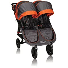 Baby Jogger City Mini GT Double Stroller, Shadow Orange by BaJogger
