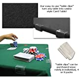 POKER CARD TABLE FELT