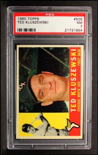 1960 Topps Ted Kluszewski Chicago White Sox (Baseball Card) # 505 Psa 7 - Nm