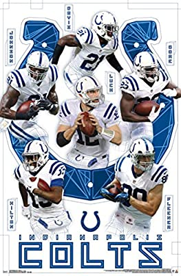 Indianapolis Colts- Team Poster 22 x 34in