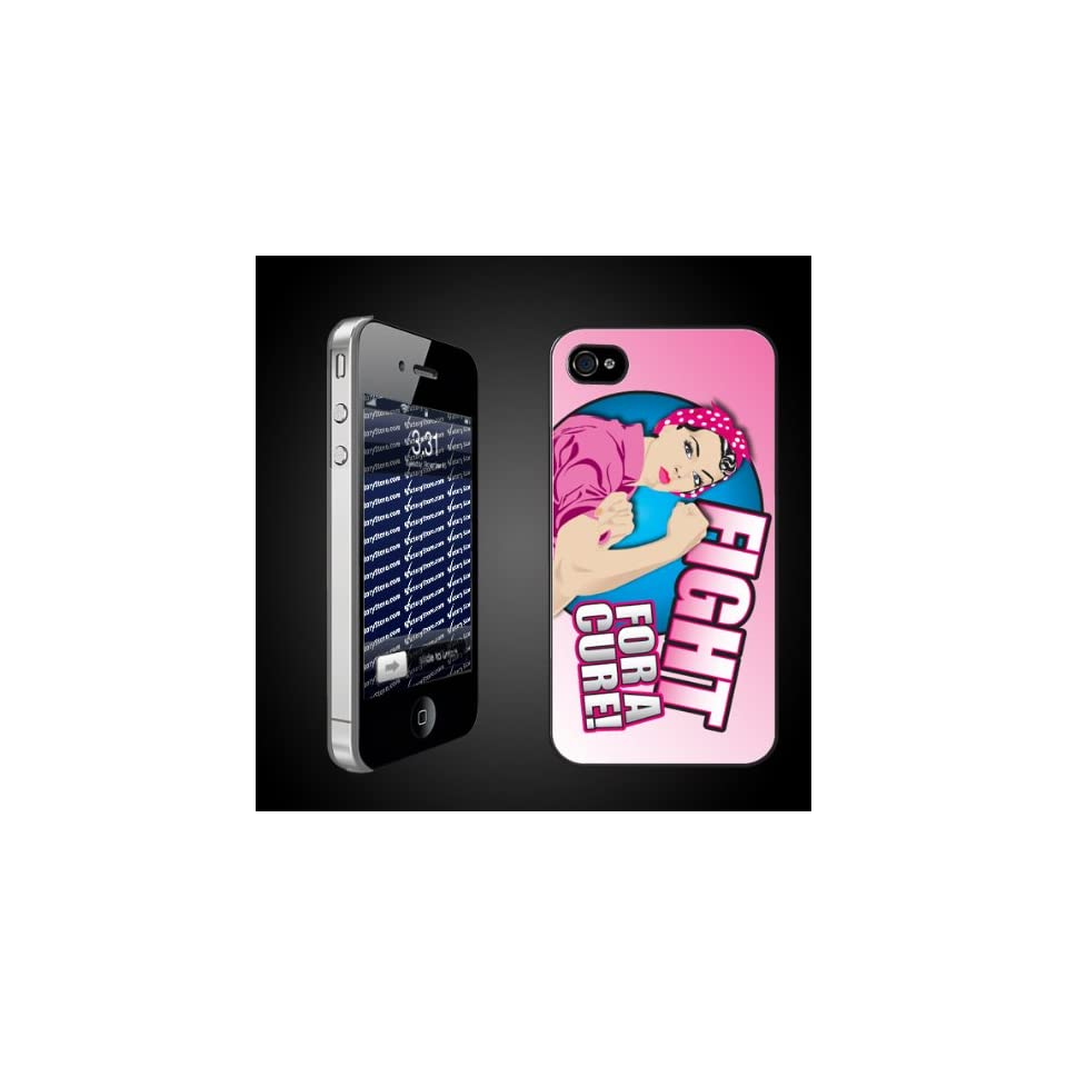 Theme Fight For a Cure   iPhone Hard Case   CLEAR Protective iPhone