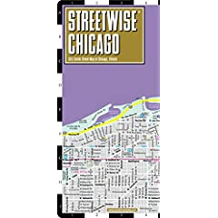 Streetwise Chicago: City Center Street Map of Chicago, Illinios (Streetwise (Streetwise Maps))