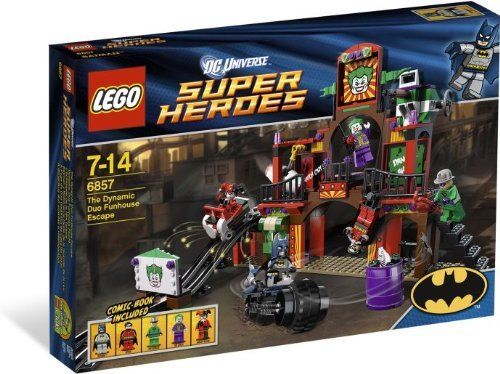 LEGO Super Heroes: Dynamic Duo Funhouse Escape Set 6857