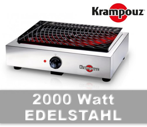 krampouz elektrogrill profi grillplatte tischgrill. Black Bedroom Furniture Sets. Home Design Ideas