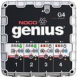 NOCO Genius G4 6V/12V 4.4A 4-Bank UltraSafe Smart Battery Charger ~ NOCO
