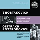 Shostakovich: Violin and Cello Concertos [Clean]