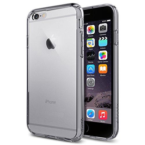 iPhone 6 ケース, Spigen®  [ クリア バンパー] Apple iPhone 4.7 (2014) ウルトラ・ハイブリッド The New iPhone アイフォン6 (国内正規品) (スペース・クリスタルSGP11352)