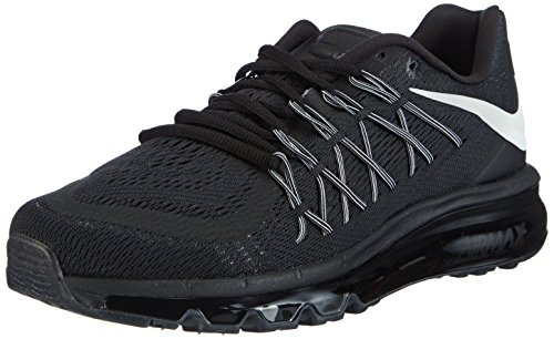 Nike Air Max 2015 Men's Running Shoes Black/White 698902-001 (11 D(M) US)