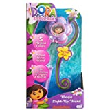 Dora The Explorer Magic Light Up Wand. Hear Color Names In English And Spanish