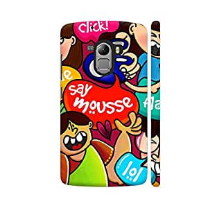 Colorpur Say Mousse Multicolor Designer Mobile Phone Case Back Cover For Lenovo Vibe K4 Note | Artist: Woodle Doodle