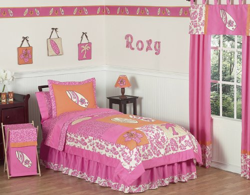 Awesome Tropical Hawaiian Kids Bedding pc Girls Surf Full Queen Set