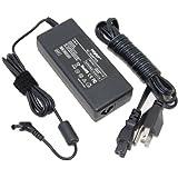HQRP AC Adapter for SONY NSZ-GT1 NSG-AC19V Blu Ray Google Internet TV Box Power Supply NSZGT1 + HQRP Coaster