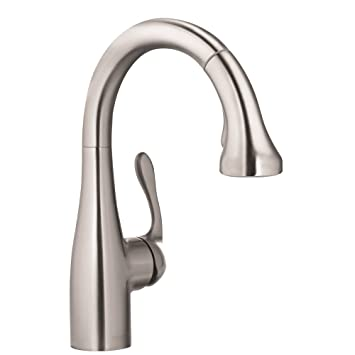 Hansgrohe 04297800 Allegro E Gourmet Prep Kitchen Faucet, Steel Optik