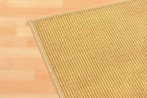 Sisalteppich Sisallux  Farbe Natur  2,00 x 3,00  BaumarktÜberprüfung und weitere Informationen
